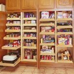 Kitchen Cabinet Rolling Shelves and Drawers