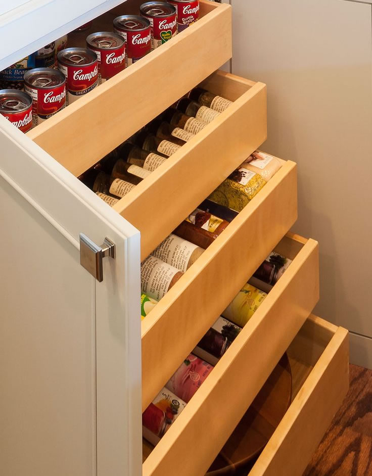 roll out shelving