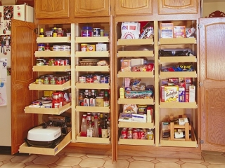 Roll Out shelving For Your Pantry