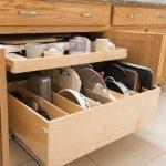 Rolling Kitchen Utensil Shelves