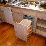 Kitchen Rolling Trash Drawer