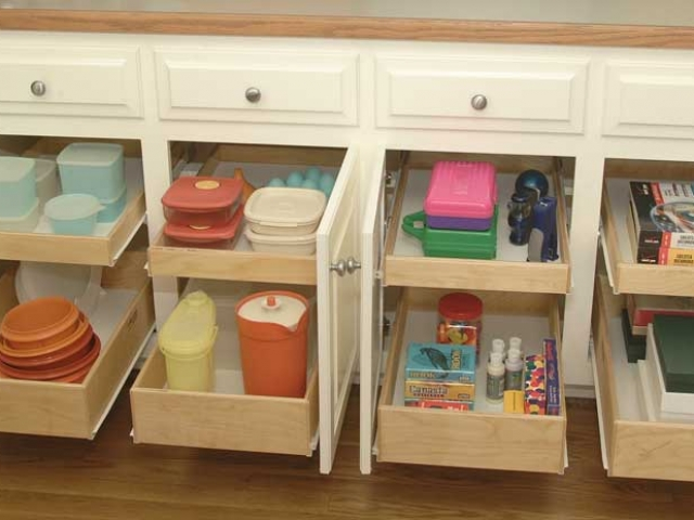 Roll Out Shelving For Your Kitchen