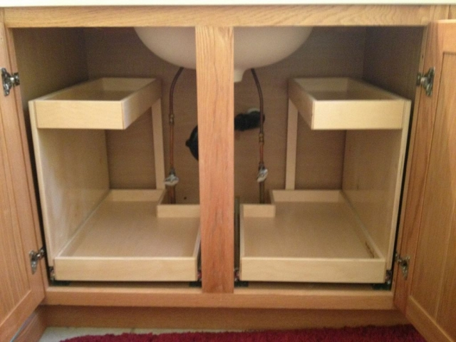 Roll Out Shelving For Under Your Sink